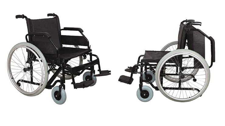Kilolu hastalar için tekerlekli sandalye